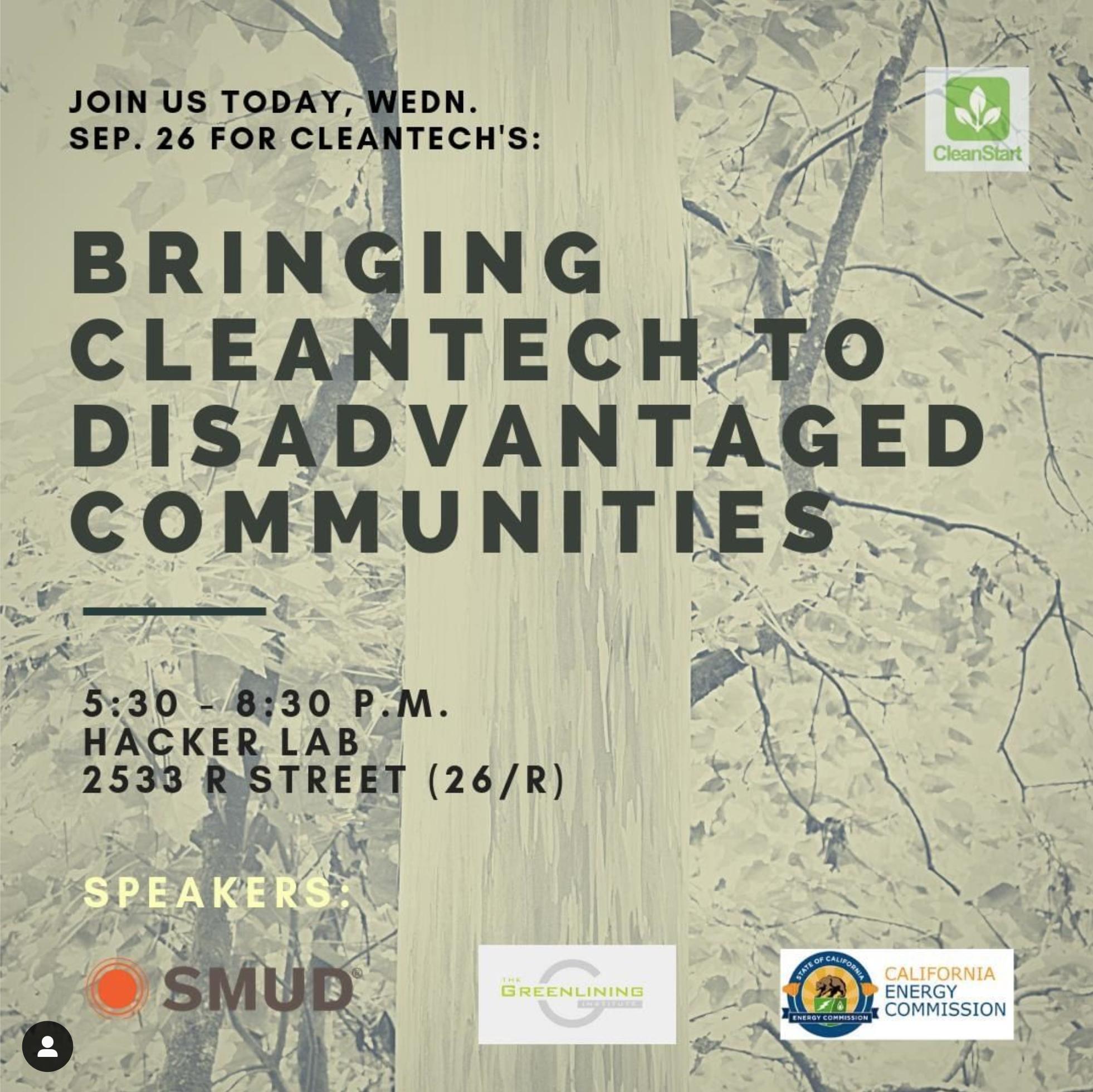 Cleanstart green energy meetup